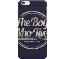 The Boy Who Lived iPhone Case/Skin
