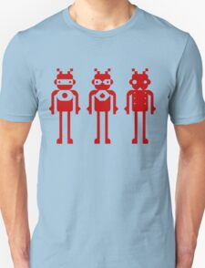 tHREE rED rOBOTS T-Shirt