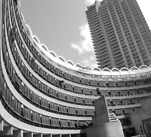 Barbican centre city of london by Janis Read-Walters