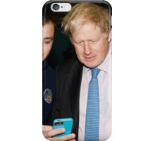 Boris Johnson At Millwall football club iPhone Case/Skin