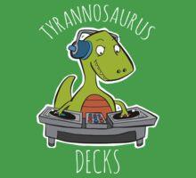 Tyrannosaurus Decks by DocHackenbush