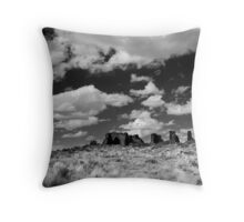 Chaco Canyon, New Mexico Throw Pillow