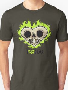 Burning Dead Heart Loves You T-Shirt