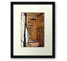 Arc-E-Texture Framed Print