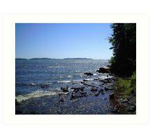 open waters Art Print