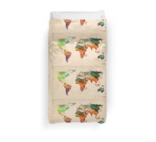map Duvet Cover