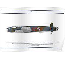Lancaster GB 179 Squadron 1 Poster