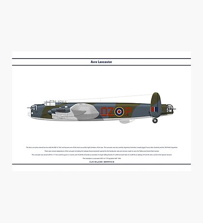 Lancaster GB 179 Squadron 1 Photographic Print