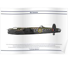 Lancaster GB 207 Squadron 1 Poster