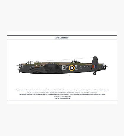 Lancaster GB 207 Squadron 1 Photographic Print