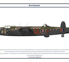 Lancaster GB 576 Squadron 1 by Claveworks