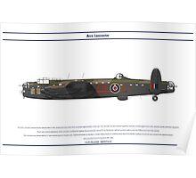 Lancaster GB 576 Squadron 1 Poster