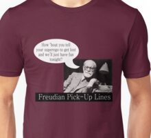 Freudian Pick Up Lines 5 Unisex T-Shirt