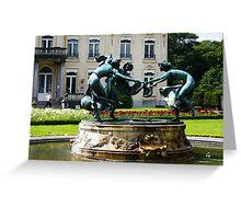 Antwerp - Dancing Nymphs Greeting Card
