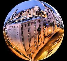 Phoenix Downtown Building Sphere by KLPhair
