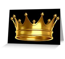 Crown,King,Queen Greeting Card
