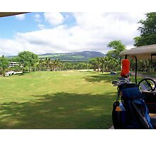 Golf Anyone Photographic Print