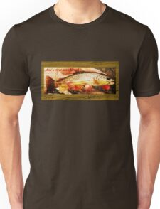 A river runs through it...Brown Trout Unisex T-Shirt
