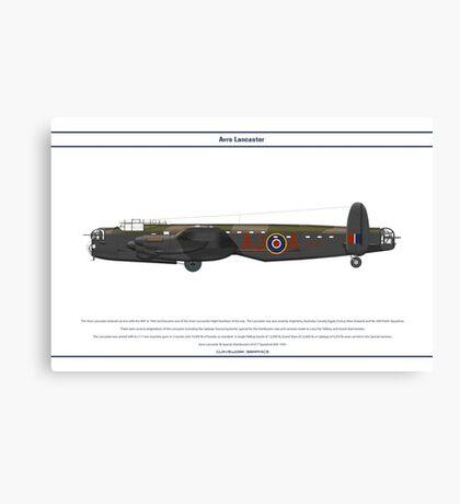 Lancaster 617 Squadron 5 Canvas Print