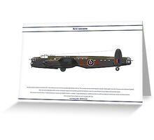 Lancaster 617 Squadron 5 Greeting Card