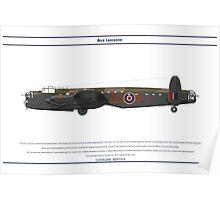 Lancaster 617 Squadron 5 Poster