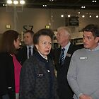 Princess Royal attends the London Boat Show at ExCel by Keith Larby