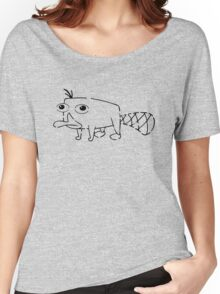 Perry the Platypus Stencil Women's Relaxed Fit T-Shirt