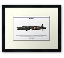 Lancaster 617 Squadron 6 Framed Print