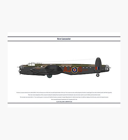 Lancaster 617 Squadron 6 Photographic Print