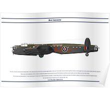 Lancaster 617 Squadron 7 Poster