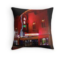 The Jazzy Gem Theater in Kansas City Throw Pillow