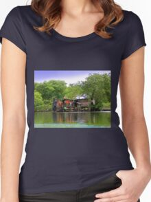 Life In Bocas Del Toro, Panama Women's Fitted Scoop T-Shirt