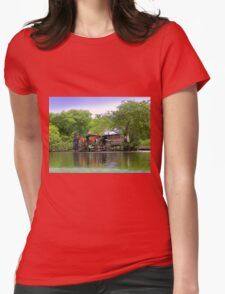 Life In Bocas Del Toro, Panama Womens Fitted T-Shirt