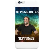 space joke featuring mark sheppard iPhone Case/Skin