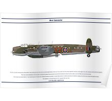 Lancaster 617 Squadron 10 Poster