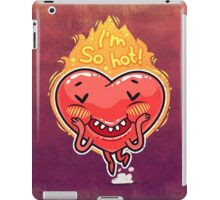 Cute Burning Heart for Valentine's Day iPad Case/Skin