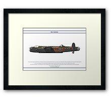 Lancaster 617 Squadron 11 Framed Print