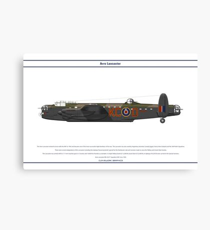 Lancaster 617 Squadron 11 Canvas Print