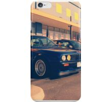 BMW E30 Line iPhone Case/Skin