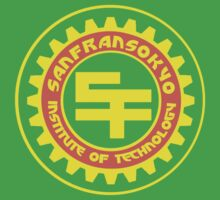 San Fransokyo Institute of Technology (Text) Kids Clothes