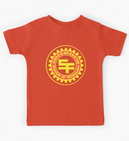 San Fransokyo Institute of Technology (Text) Kids Tee