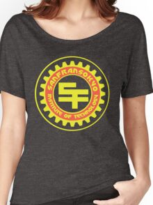 San Fransokyo Institute of Technology (Text) Women's Relaxed Fit T-Shirt