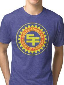 San Fransokyo Institute of Technology (Text) Tri-blend T-Shirt