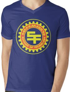 San Fransokyo Institute of Technology (Text) Mens V-Neck T-Shirt