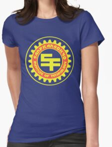 San Fransokyo Institute of Technology (Text) Womens Fitted T-Shirt