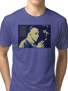 Christopher Hitchens Quote Tri-blend T-Shirt