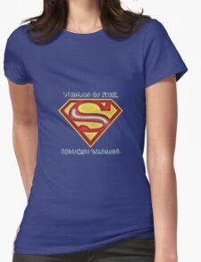Woman of Steel - Scoliosis Awareness T-Shirt