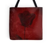Symbol Of My Love Blooming Red Rose Digitally Enhanced Photograph Tote Bag