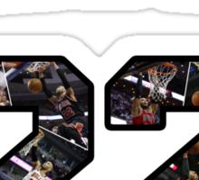 Chicago Bulls NBA - Taj Gibson v1.0 Sticker