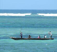 Water Taxi - Diani Beach by tsavoexplored